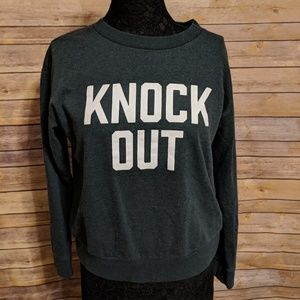 Banana Republic Knock Out Green Sweatshirt